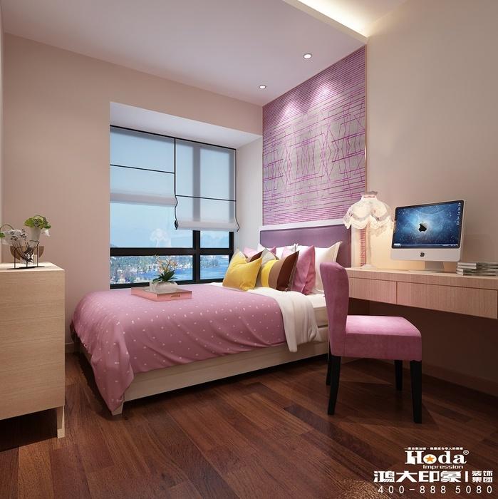 10平方米少女卧室装修效果图